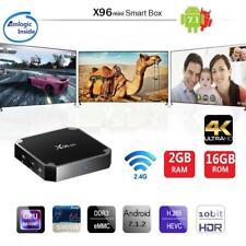 X96MINI Android 7.1.2 Smart TV Box 2GB+16GB Quad Core H.265 HD Media Player E4P2
