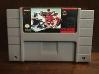 SNES Super Nintendo NHL Stanley Cup Video Game Cartridge 1991 Vintage Retro