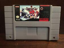 SNES Super Nintendo NHL Stanley Cup Video Game Cartridge 1991 Vintage Retro