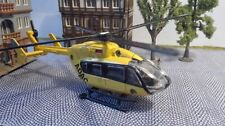 Spur H0 | Hubschrauber 1:87 mit Motor | Helicopter mit Unterflurantrieb