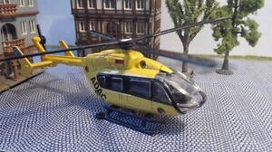 Spur H0   Hubschrauber 1:87 mit Motor   Helicopter mit Unterflurantrieb