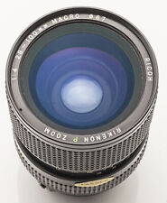Ricoh Rikenon P Zoom 28-100mm f/4 28-100 mm Macro Pentax PK