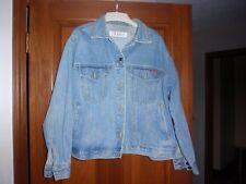 Womens Gloria Vanderbilt Denim Jean Jacket Button Front Plus size 1X