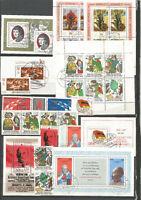 DDR  Jahrgang 1977 gestempelt + alle Einzelmarken aus Block+ZD