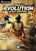 TRIALS EVOLUTION - GOLD EDITION | STEELBOOK |  PC DVD | Key | NEU & OVP | USK18