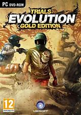 Trials Evolution-Gold Edition   Steelbook   PC DVD   key   nuevo & OVP   usk18
