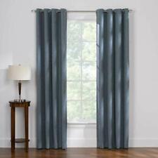 Thermal Balance 2-Pack Room Darkening Curtains Bristol Blue Mineral 52�x84 New