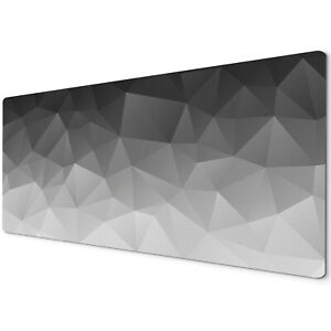 60 x 30cm Extra Large XL Desk Mouse Pad Mat Gaming Black White Grey