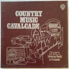 Johnny Cash And Friends - Country Music Cavalcade 3 x LP BOX  Candlelite Music 