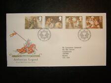 1985 Arthurian Legend Royal Mail FDC & philatélique bureau, Edinburgh SHS CV £ 4