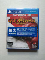 God of War 3 Remastered PlayStation PS4 2019 Chinese English Factory Sealed