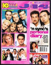 Magazine J-14 ~July 1999 ~N'Sync ~Backstreet Boys ~Britney Spears ~Ricky Martin