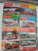 FIRE APPARATUS JOURNAL MAGAZINE January - December 2005