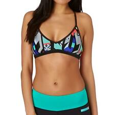 Rip Curl IMPACT LIGHT REVO CROP Womans Sport Bra Bikini Top ACTIVE WEAR Size 10