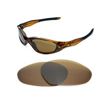 NEW POLARIZED BRONZE REPLACEMENT LENS FOR OAKLEY MINUTE 2.0 SUNGLASSES