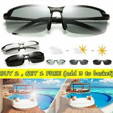 Men's Driving Glasses With Photochromic Lens Polarized Eyewear UV400 Sunglasses