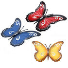 3pcs Butterfly Design Wall Stickers 3dart Decal Home Room Decorations Decoration