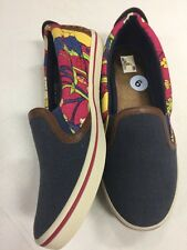 Comfortable THE SAK Shoes Slip On Flats Size 9 Flowers Floral Style NEW