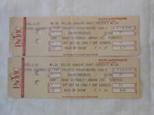 2 Original 1988 Kenny G Stanley Jordan full concert tickets Oct 8th,1988