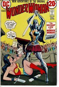Wonder Woman # 204 (VFN+, DC Comic, 1973, 1st Nubia)