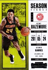 KENT BAZEMORE 2017-18 PANINI CONTENDERS Basketball cartes à collectionner, #79