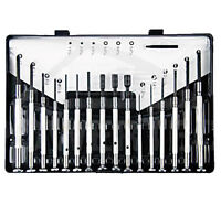 JEWELLERS 16 PC PRECISION SCREWDRIVER SET HEX SLOTTED PHILLIPS HOBBY CRAFT U241