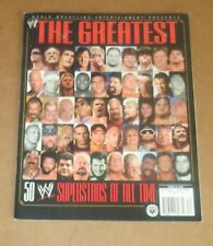 The Greatest 50 WWE Superstars of All Time 2004 Rare Wrestling Magazine WWF