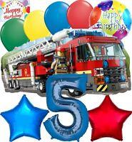 Lego City Party Supplies Balloon Decoration Birthday Bundle for 5th Birthday