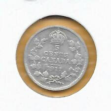 1911 CANADIAN NICKEL 5 CENTS SILVER (NICE)