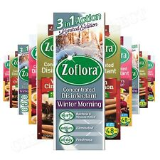 12 X 120ML ZOFLORA CHRISTMAS WINTER COLLECTION DISINFECTANT LIMITED EDT 2019