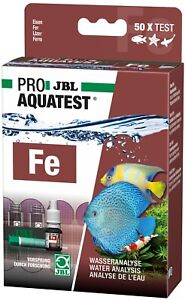 JBL Proaquatest Fe Iron Eisengehalt Freshwater Saltwater Aquariums Pond Test