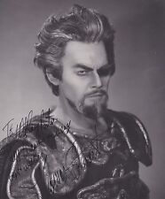 THOMAS STEWART opera bass-baritone signed photo as Wotan at the MET