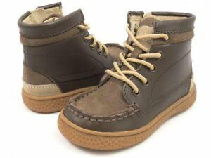 New LIVIE & LUCA Hi Top Shoes Boots Toro Brown 7 Unisex
