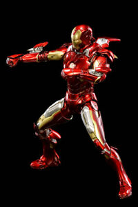 COMICAVE 1/12 Iron Man Diecast Allory Movable Mark7 MK7 Action Figure Model