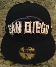 San Diego Chargers New Era Navy Blue 59FIFTY Fitted Cap Size - 6 7/8 NWT NEW
