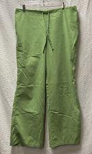 Sb Scrubs Bright Aloe Green Size Large Scrub Pants Style 967