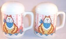 Whimsical Fat Cat Big Salt & Pepper Shakers Shaker Set, Lisa Berrett