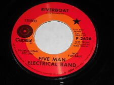 Five Man Electrical Band: Riverboat / Good 45