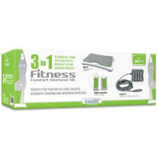 DreamGear DGWII-1159 3-In-1 Fitness Comfort Workout Kit for Wii Fit, NEW