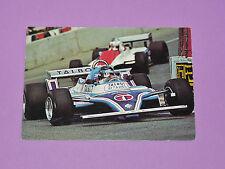 CARTE POSTALE CPA JACQUES LAFITTE LIGIER TALBOT PILOTE F1 AUTO 1981