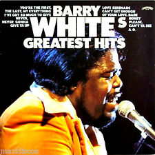 LP - BARRY WHITE - GREATEST HITS (CLASSIC SOUL) NUEVO DE TIENDA,MINT STOCK STORE
