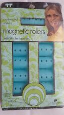Vintage Hair Rollers! Magnetic! Jumbo! With Pins! Unique old hard to find Items!