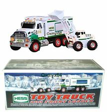 2008 Hess Front Loader Toy Truck with Batteries & Bag!