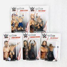 WWE Mini Figure Lot Styles, Cena, Rock, Reigns, Balor Wrestling Cake Toppers