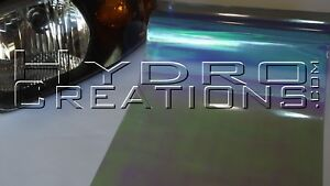 "12"" x 180"" - Neo Chameleon Light Blue Gloss Headlight Taillight Fog Light Tint"