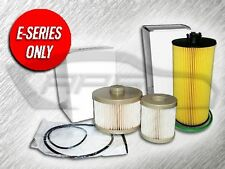 6.0L TURBO DIESEL 1 OIL FILTER & 1 FUEL FILTER COMBO KIT FOR FORD E SERIES ONLY