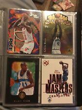 Baloncesto de la NBA tarjetas Glen Rice inserciones raras