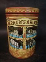 Vintage 1979 Barnum & Bailey Circus Animal Crackers Tin 1914 Design Replica