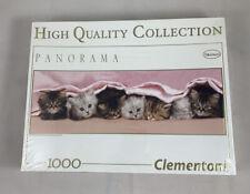 Clementoni 1000 Piece Jigsaw Puzzle Kittens Panorama New Sealed