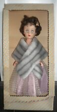 Vtg Supermarket Grocery Store Doll Mink Stole Original Box
